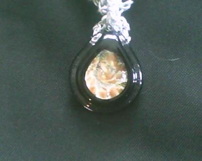 Close-up of the pendant~