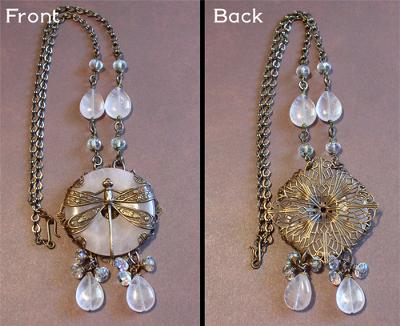 Front And Back  Of Necklace