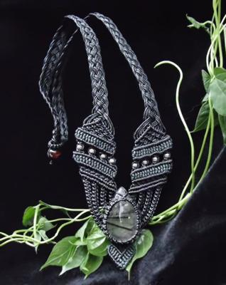 Aphordite Macrame Necklace